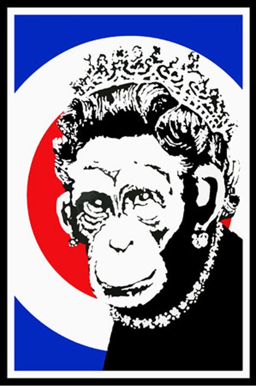 Banksy, 'Monkey Queen', 2003, Print, Screen print on paper, Graffik Gallery Limited