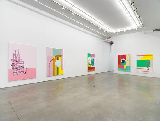 "Egan Frantz, ""Paintings"", installation view"