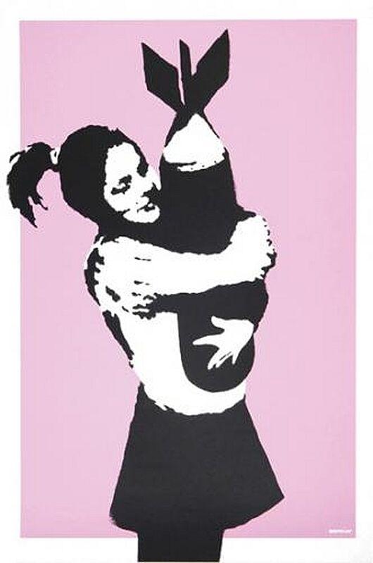 Banksy, 'Bomb Hugger', 2003, Print, Screenprint on paper, Taglialatella Galleries