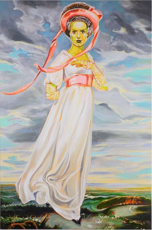 James Charles, 'The Bride', 2015, Painting, Mixed media on canvas, Joseph Gross Gallery