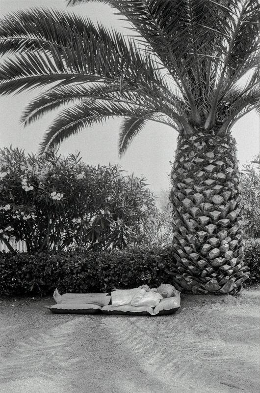 David Hurn, 'Sunning on the sandy beach. Cannes, France. ', 1964, Photography, Magnum Photos