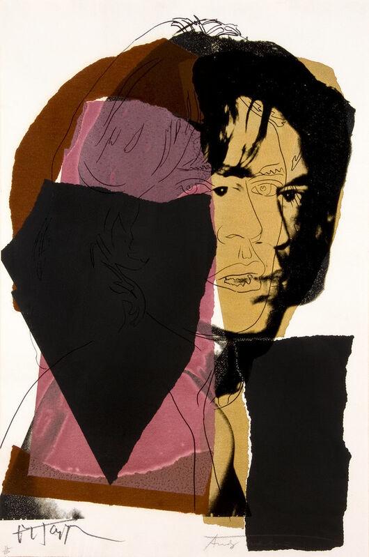 Andy Warhol, 'Mick Jagger (F. & S. II.139)', 1975, Print, Screenprint on Arches Aquarell Paper, Gerald Hartinger Fine Arts