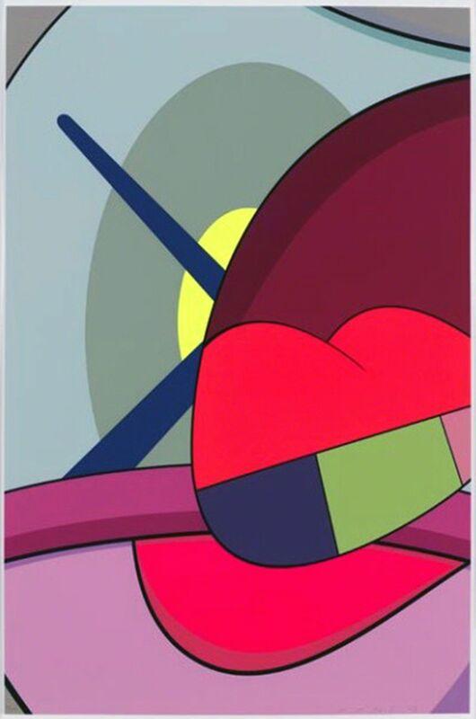 KAWS, 'Ups & Downs 5', 2013, Print, Silkscreen print on Premium Saunders Waterford 410 gsm High White paper, Galerie C.O.A