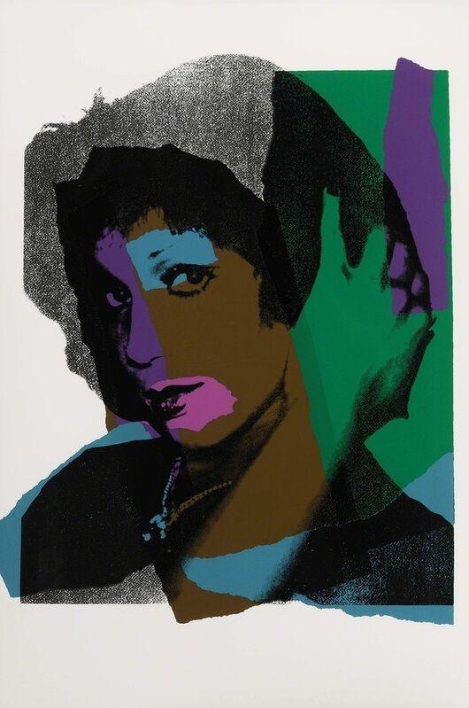 Andy Warhol, 'Ladies and Gentlemen (F&S II.132)', 1975, Print, Screenprint on Arches paper, Joseph Fine Art LONDON