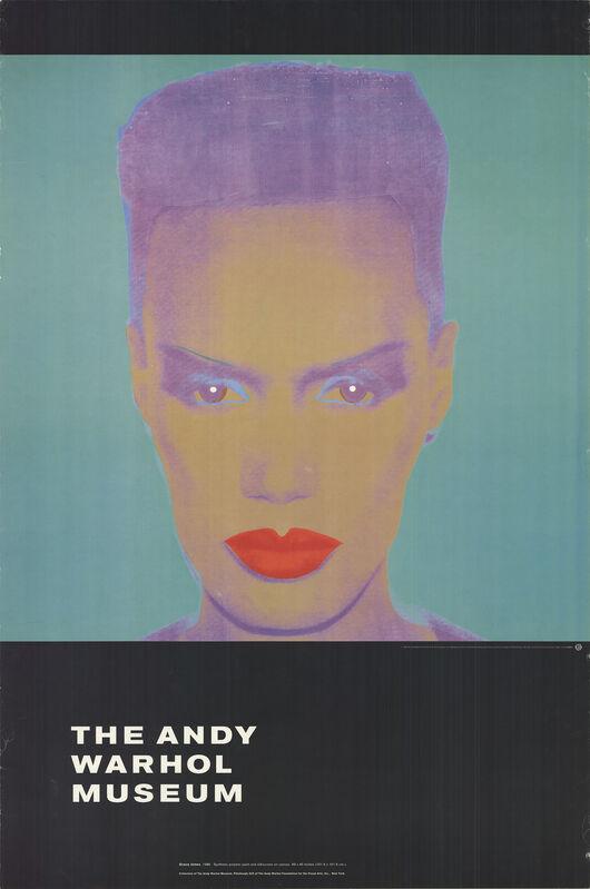 Andy Warhol, 'Grace Jones', 1992, Ephemera or Merchandise, Offset Lithograph, ArtWise
