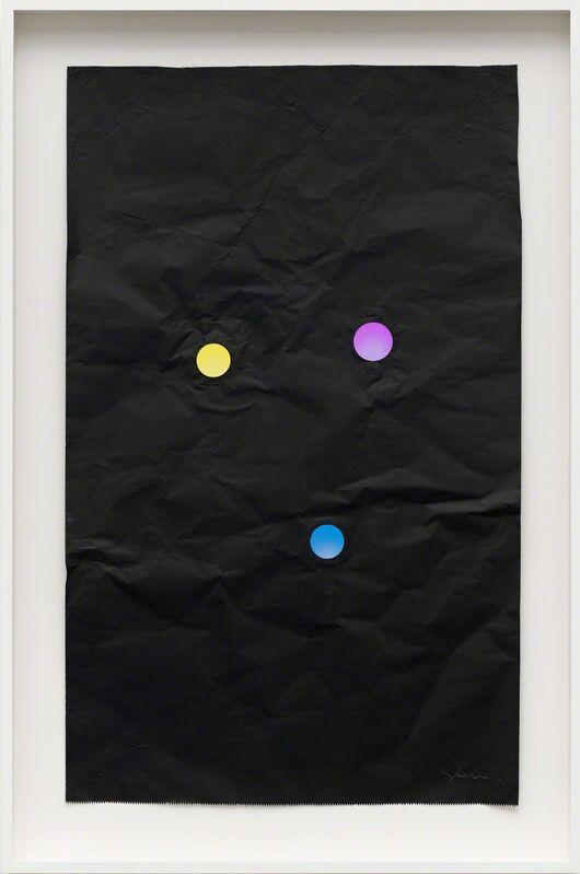 Stephen Dean, 'Juggler #13', 2013, Sculpture, Aluminum black foil and dichroic glass [papel-alumínio preto e vidro dichroico], Casa Triângulo