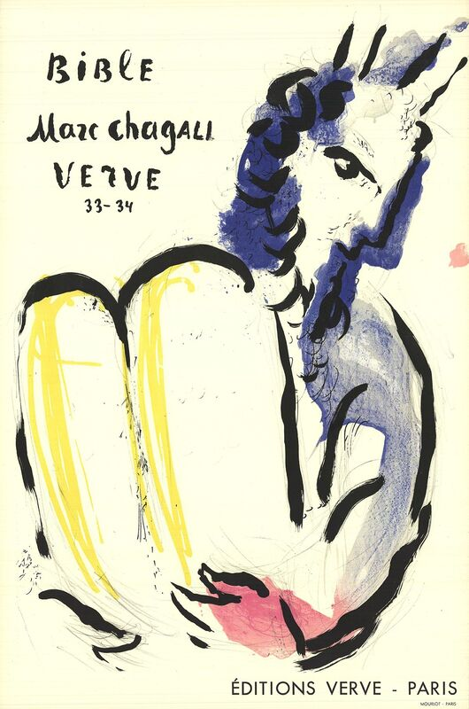 Marc Chagall, 'Bible Verve', 1956, Print, Color Lithograph, ArtWise