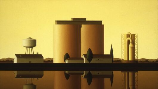 Renny Tait, 'Cement Factory, Yellow Sky', 1997