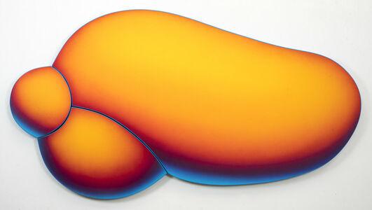 Jan Kaláb, 'Atomic Red Bubble', 2019