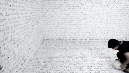 Deborah Castillo, 'Marx Palimpsesto', 2016