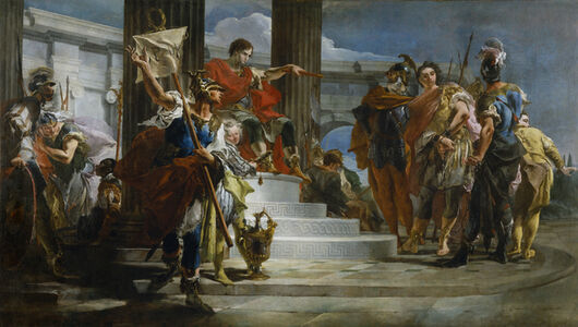 Giambattista Tiepolo, 'Scipio Africanus Freeing Massiva', 1719-1721