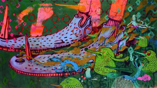 Alëxone Dizac, 'Palmito Fumant', 2014