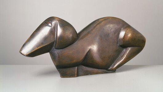 Henri Gaudier-Brzeska, 'Dog', 1914