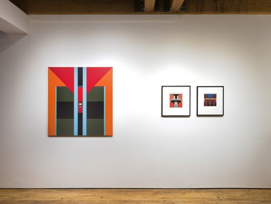 Fanny Sanín: The Balance of Color, installation view