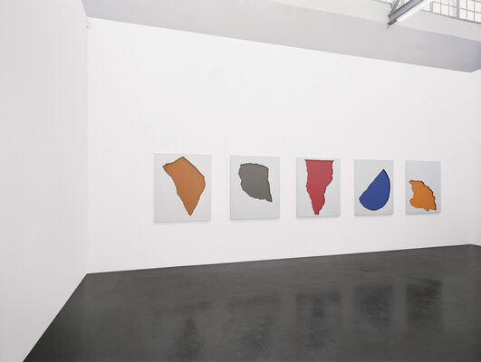 Jean-Marc Bustamante | Malerei 2004-2011, installation view