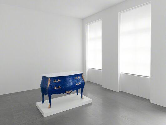 Betrand Lavier — Walt Disney Series, installation view