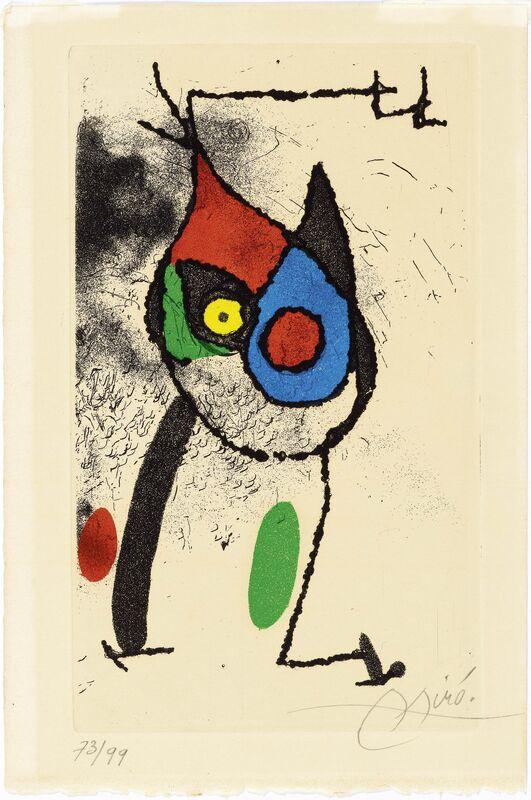 Joan Miró, 'Les Magies', 1972, Print, Colour etching and -aquatint, Koller Auctions