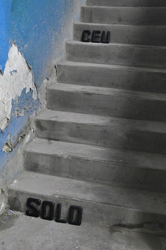 Rochelle Costi, 'Céu Solo - série Escada palavra', 2011, Impressão jato de tinta sobre papel de algodão, moldura em madeira preta e vidro, Celma Albuquerque Galeria de Arte