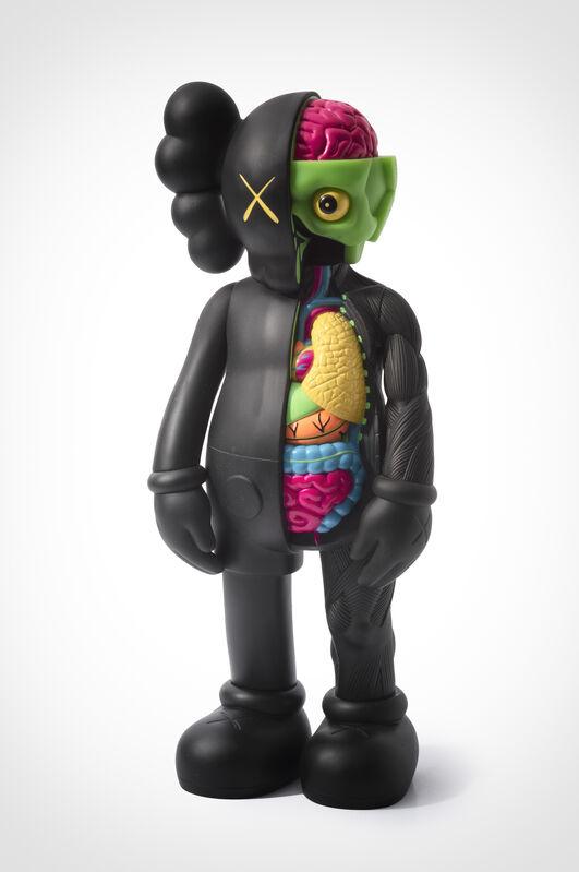 KAWS, 'Disected Companion (Black)', 2006, Sculpture, Painted cast vinyl, Tate Ward Auctions