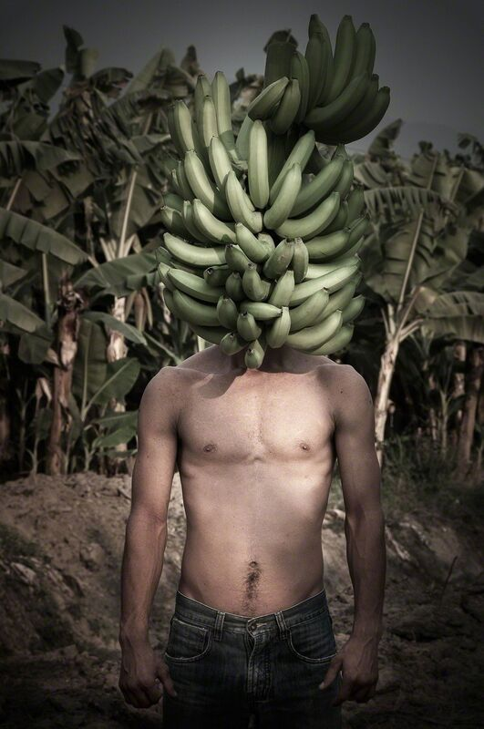 Gonzalo Fuenmayor, 'Mister Bananaman - Papere Series', 2013, Photography, Inkjet print on cotton archival paper, Dot Fiftyone Gallery