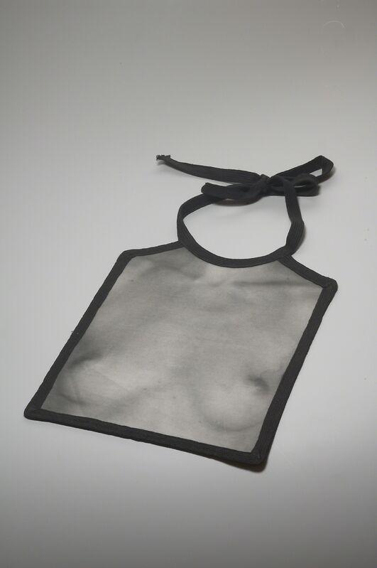 Gijs Bakker, 'Bib/Slab,', 1976, Design/Decorative Art, Analog photograph printed on fabric, cotton, Museum of Arts and Design