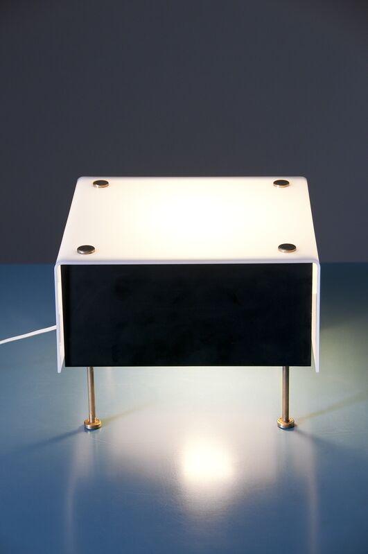 Pierre Guariche, 'Lamp G62', Design/Decorative Art, Black lacquered metal, gold brass and plexiglas, Galerie Pascal Cuisinier
