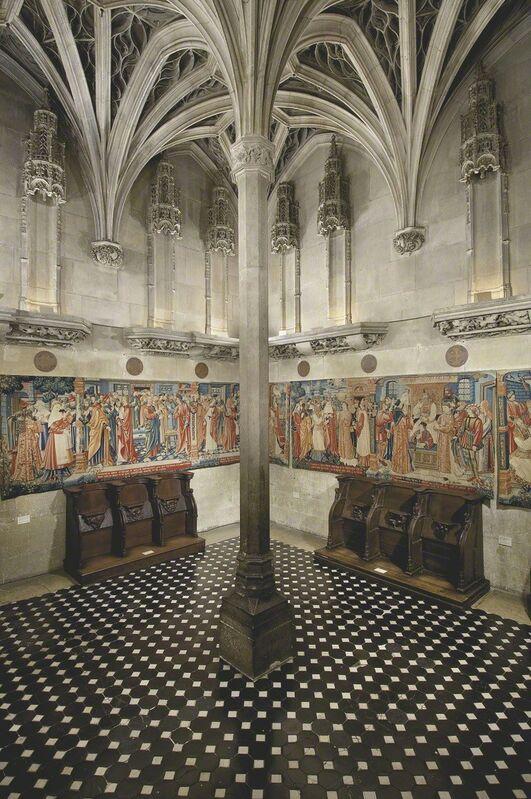 'Musée de Cluny chapel', 15th century, Architecture, Musée de Cluny