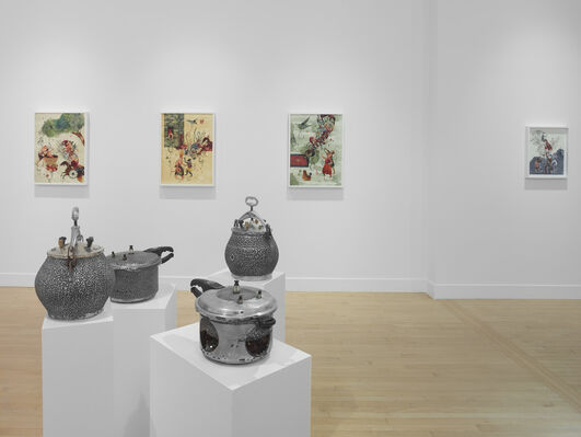 Burning Song, installation view