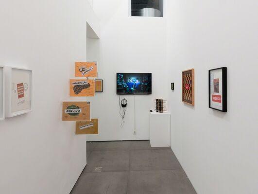 Paulo Bruscky - rec/rio, installation view