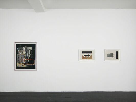 Layered Narratives: Collage/Photomontage/Print, installation view