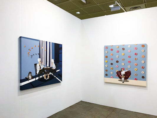 The Columns Gallery at Korea Galleries Art Fair 2020, installation view