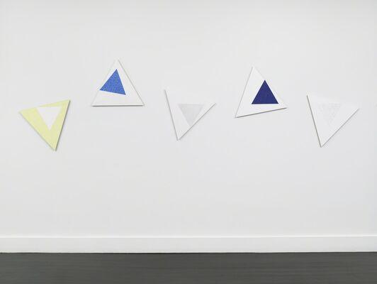 "Dove Bradshaw ""Angles"", installation view"