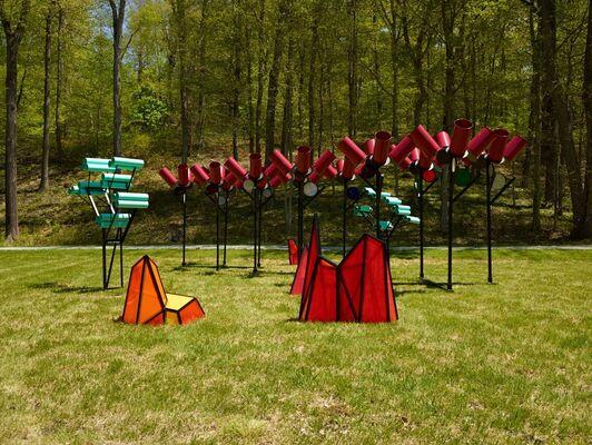 Dennis Oppenheim: Terrestrial Studio, installation view