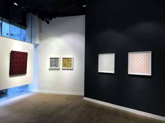 Sensorial Geometries, from Argentina to the World, installation view