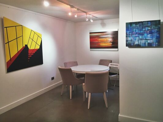 SHOP Visions of Abstraction, installation view