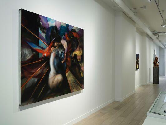 Hugo Wilson: Rape of Europa, installation view