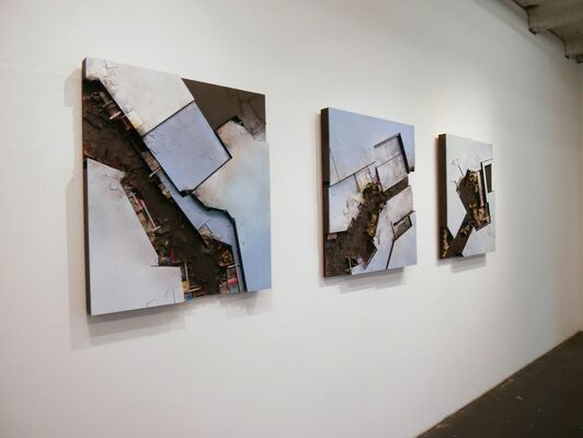 Hendrik Czakainski: SWITCH-OVER, installation view