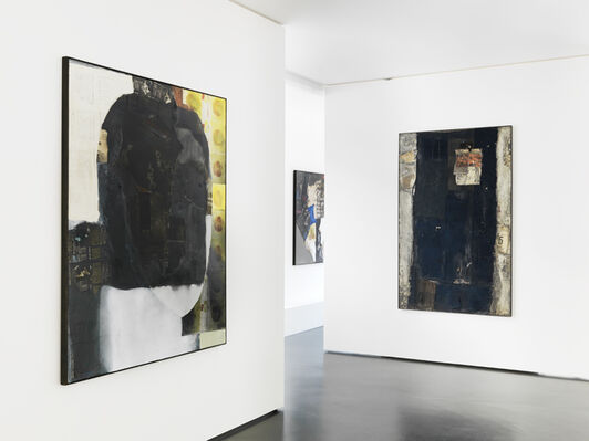 KIMIYO MISHIMA : Paintings and Sculptures, installation view