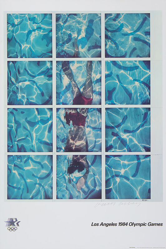 David Hockney, 'LA Olympics 1984, Signed ', 1984, Print, Offset Lithograph, ModernPrints.co.uk
