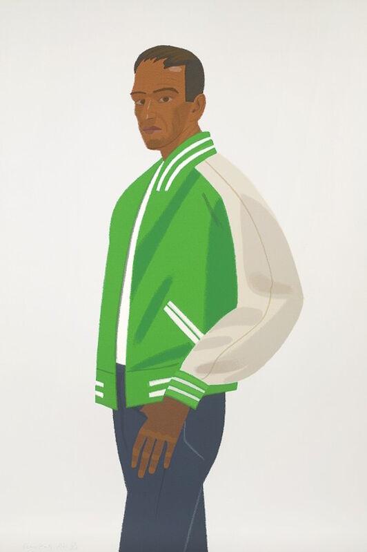 Alex Katz, 'Green Jacket (Alex and Ada, the 1960's to the 1980's Suite)', 1990, Print, Screenprint, Gregg Shienbaum Fine Art