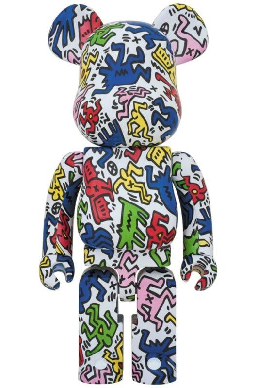 Keith Haring, 'BE@RBRICK KEITH HARING 1000%', 2018, Sculpture, Plastic, Marcel Katz Art