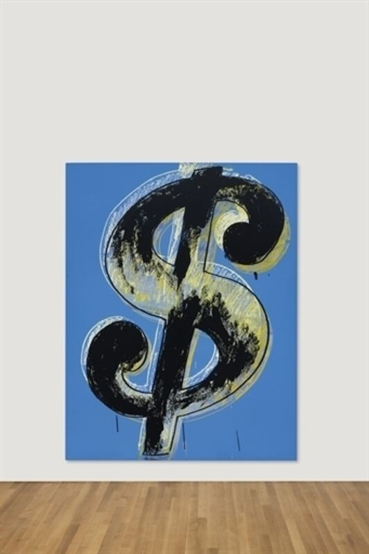 Andy Warhol, 'Dollar Sign', Synthetic polymer and silkscreen inks on canvas, Christie's