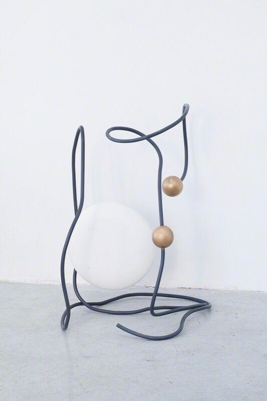 Julie Béna, 'čtyři', 2015, Sculpture, Steel, fabric, wood, paint, Galerie Joseph Tang