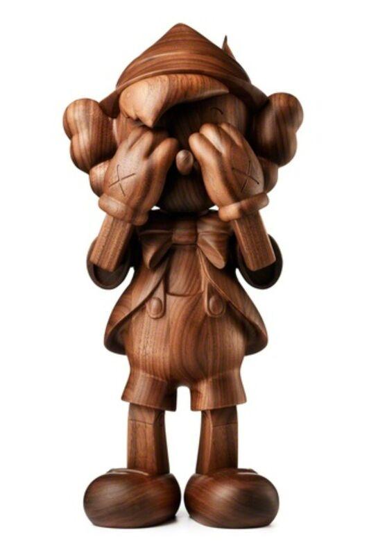 KAWS, 'KAWS X DISNEY WOODEN PINOCCHIO', 2018, Sculpture, Wood, Marcel Katz Art