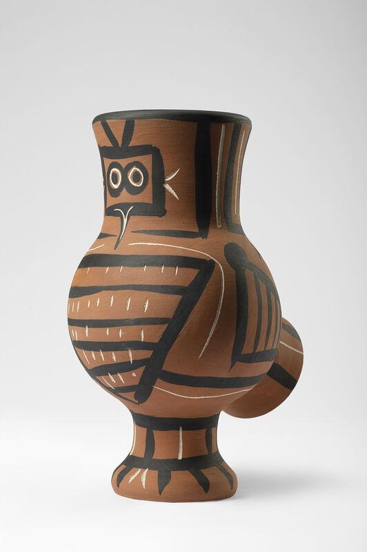 Pablo Picasso, 'Chouette mate', 1958, Design/Decorative Art, Partially glazed terracotta, Il Ponte