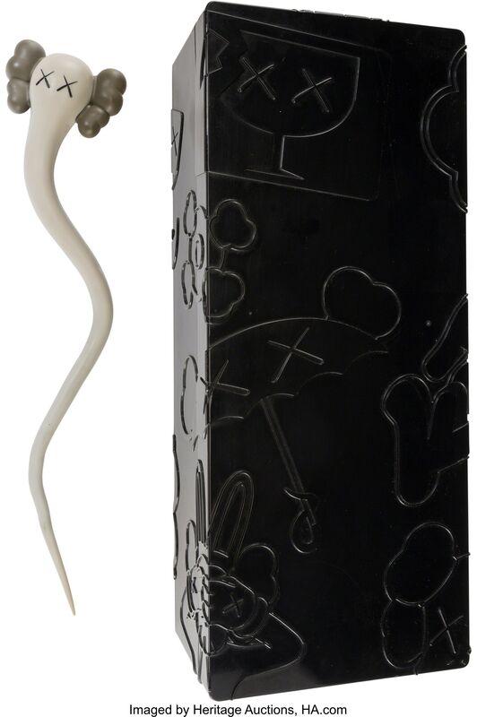 KAWS, 'Bendy (Grey)', 2003, Sculpture, Painted cast vinyl, Heritage Auctions