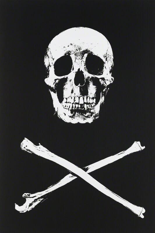 Damien Hirst, 'Tabun', 2010, Mixed Media, UV ink and charcoal on canvas, Gagosian