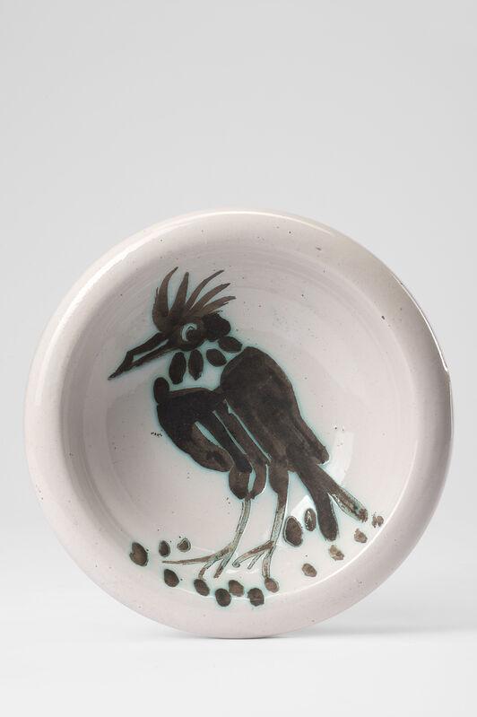 Pablo Picasso, 'Oiseau à la huppe', 1952, Design/Decorative Art, Glazed ceramic, Il Ponte