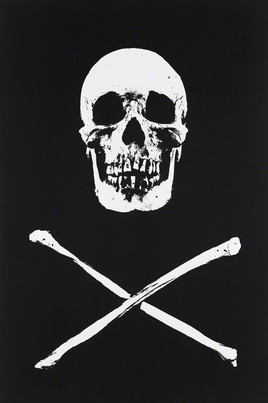 Damien Hirst, 'Cytisine', 2010, Mixed Media, UV ink and charcoal on canvas, Gagosian