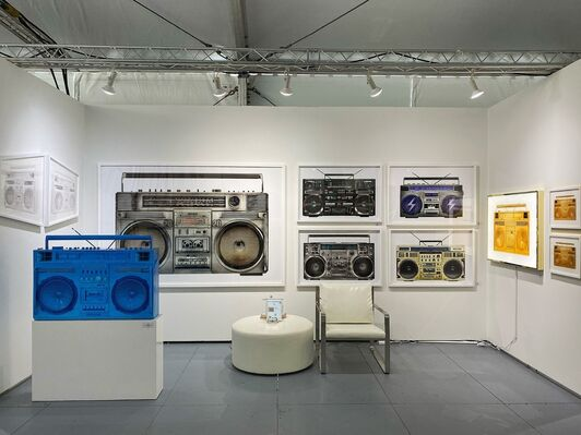 Art Angels  at SCOPE Miami Beach 2019, installation view